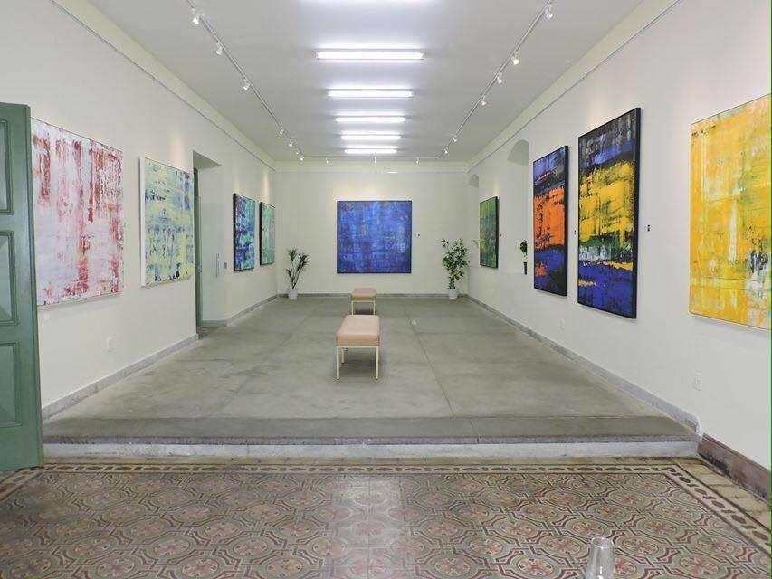 Exposição Areias e Cores - Sociedade Brasileira de Belas Artes – Rio de Janeiro - 2015